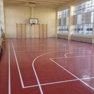 Vinyl sport flooring
