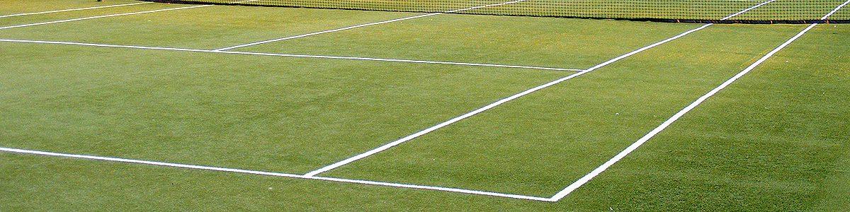 изкуствена трева за тенис кортове