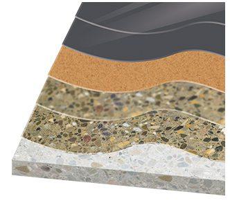 Декоративно полиуретаново подово покритие KLB PU 425