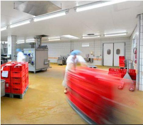 Индустриално покритие за мокри помещения PU-Beton