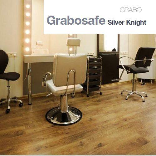 Безопасна винилова настилка GraboSafe Silver Knight